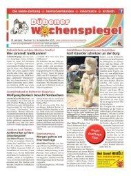 Dübener Wochenspiegel - Ausgabe 18 - 16-09_2015