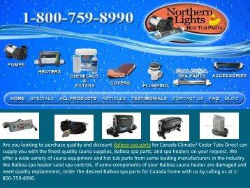 Quality Balboa Spa Parts Canada
