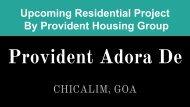 Provident Adora De Goa Project Pdf Available Now