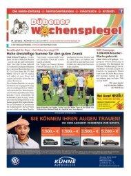 Dübener Wochenspiegel - Ausgabe 12 - 24-06_2015