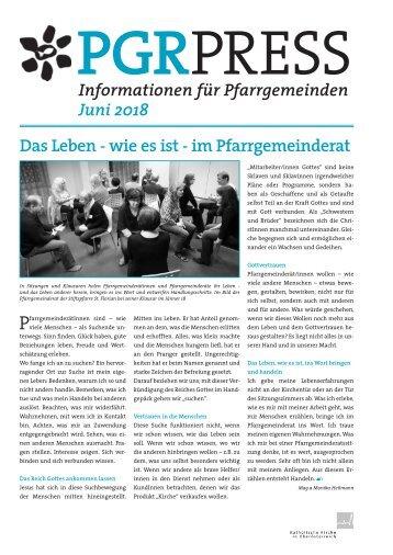 PGR-Press (06/2018)