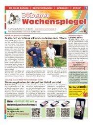 Dübener Wochenspiegel - Ausgabe 10 - 27-05_2015