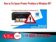 1-800-213-8289 Fix Epson Printer Problem in Windows 10
