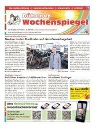Dübener Wochenspiegel - Ausgabe 09 - 18-05_2015