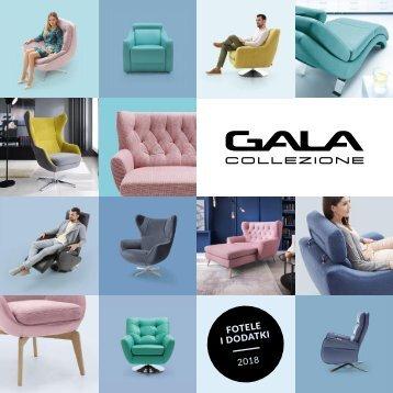 GALA COLLEZIONE Fotele i Dodatki 2017