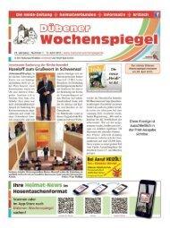 Dübener Wochenspiegel - Ausgabe 07 - 15-04_2015