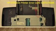1-800-597-1052  How to Fix HP OfficeJet Printer Error Code 0x07a74dd6