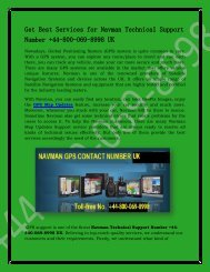 How We Improved Our Navman map updates Support Number +44-800-069-8998 in UK