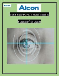 Best Pupil Eye Surgery & Treatment in Delhi