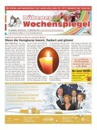 Dübener Wochenspiegel - Ausgabe 24 - 17-12_2014
