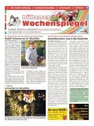 Dübener Wochenspiegel - Ausgabe 23 - 03-12_2014