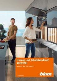 Blum Katalog und Arbeitshandbuch 2020/21