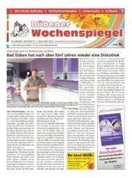 Dübener Wochenspiegel - Ausgabe 21 - 05-11_2014
