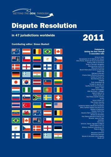 Dispute Resolution 2011 - Habib Al Mulla