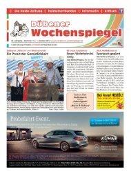 Dübener Wochenspiegel - Ausgabe 19 - 01-10_2014