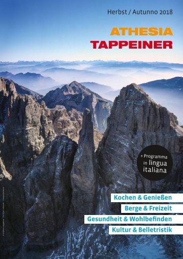 Athesia Tappeiner Verlag - Programm Herbst 2018