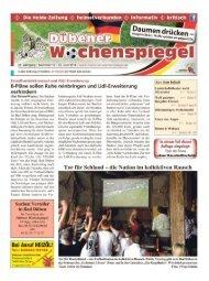 Dübener Wochenspiegel - Ausgabe 12 - 25-06_2014
