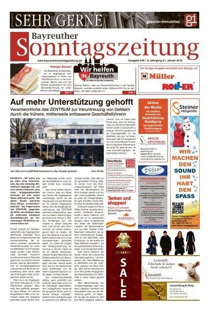 2018-01-21 Bayreuther Sonntagszeitung