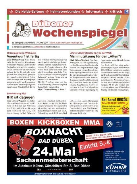 Dübener Wochenspiegel - Ausgabe 09 - 14-05_2014