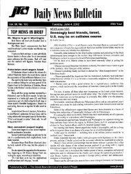 J75-7 llaily News Bulletin - JTA