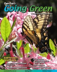 June 1 - Going Green