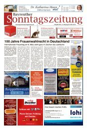 2018-03-04 Bayreuther Sonntagszeitung