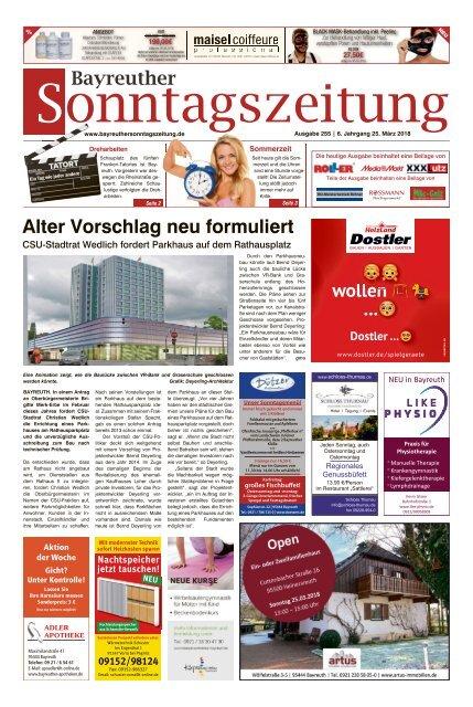 2018-03-25 Bayreuther Sonntagszeitung