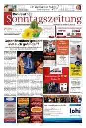 2018-04-01 Bayreuther Sonntagszeitung