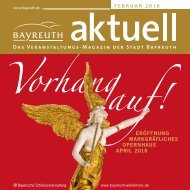 Bayreuth Aktuell Februar 2018