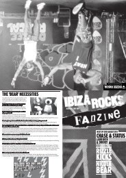 issue 9 - Ibiza Blog