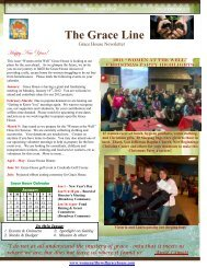 The Grace Line - Women at the Well Grace House