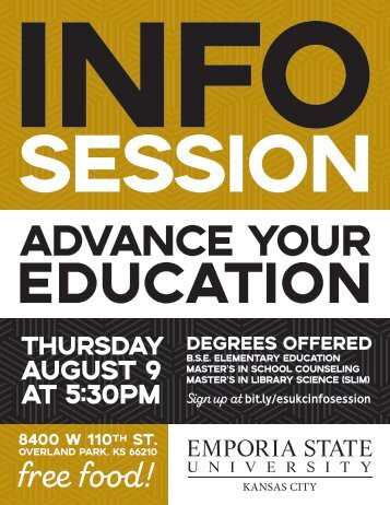 Info Session flyer 1