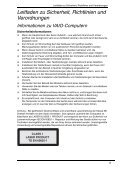 Sony VGN-BZ26V - VGN-BZ26V Documents de garantie Allemand - Page 5