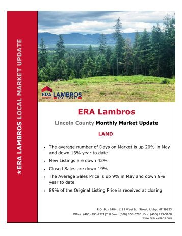 Lincoln County  Land Market Update - May 2018