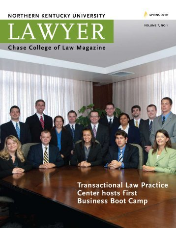 Chase College of Law Magazine - Salmon P. Chase College of Law ...