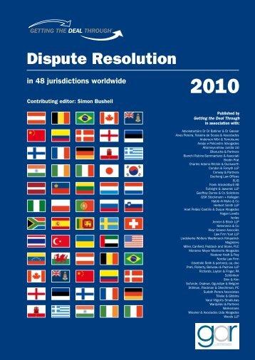 Dispute Resolution Association - Stillman & Friedman, PC
