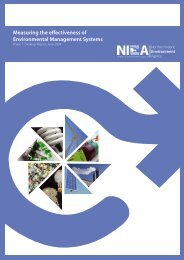 Measuring the effectiveness of Environmental Management Systems
