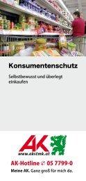Konsumentenschutz - Arbeiterkammer
