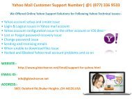 Yahoo Mail Customer Support Phone Number 1877-503-0107
