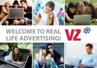 WELCOME TO REAL LIFE ADVERTISING! - studiVZ