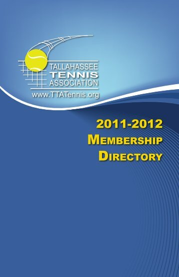 MeMbership Directory - Tallahassee Tennis Association