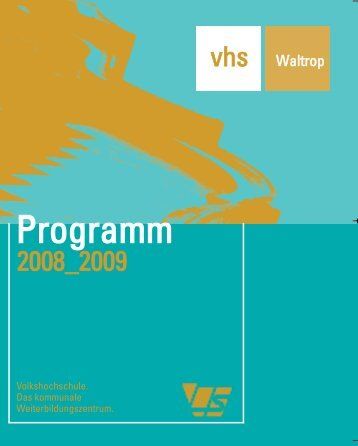 2 - Volkshochschule Waltrop