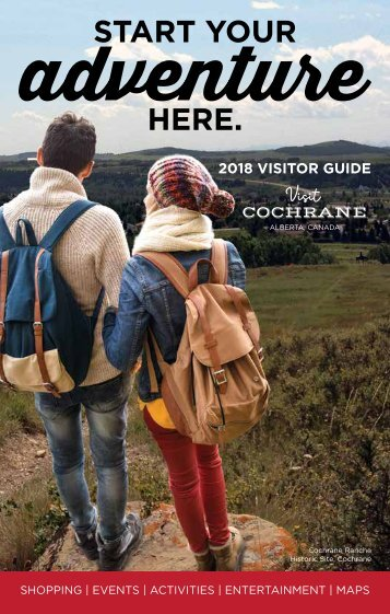 Cochrane Tourism Visitor Guide 2018