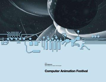 Computer Animation Festival - Center for Computation & Technology