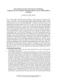 Der Gelehrte als Lehrer in der Zeit der - Göttinger Forum für ...