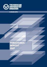 2007 - FIS - im Forschungsinformationssystem der TU Dresden ...