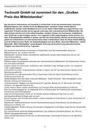 Technolit GmbH ist nominiert für den —Großen Preis des ...