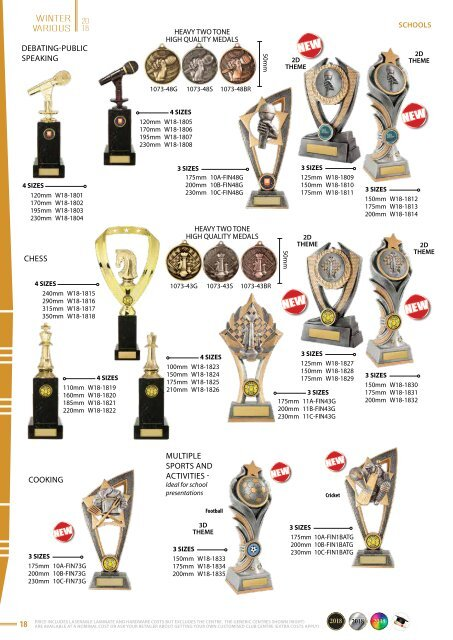 Some Really Different Trophies - Winter 2018