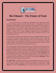 Bio Ethanol – The Future of Fuels