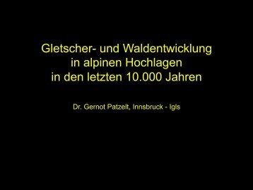 Prof. Patzelt. - EIKE